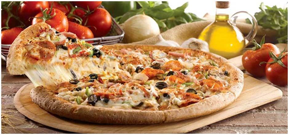 Olasz, kövön sütött pizzák